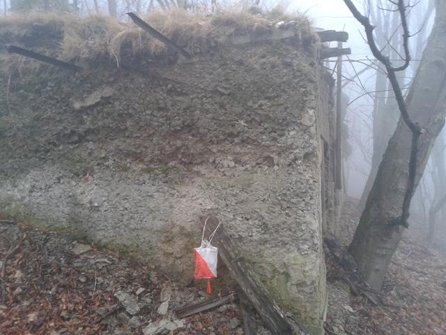 kt 3 - brestovac, zapadni objekt, cvika na zapadnom zidu...
